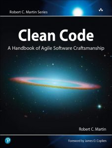 Cover of Clean Code book